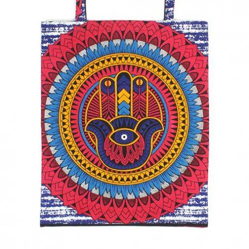 Handmade-Cotton-Shopping-Tote-Bag-Hamsa-Hand