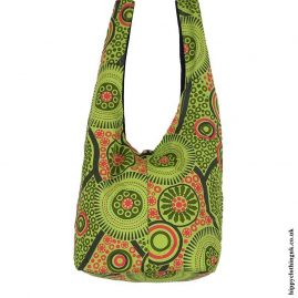 Light-Green-Patterned-Shoulder-Bag