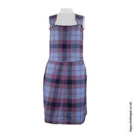 Pink-Blue-Checked-Dungaree-Dress