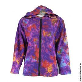 Purple-Tie-Dye-Hippy-Jacket