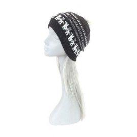 Charcoal-Alpaca-Wool-Beanie-Hat-with-Pom-Pom