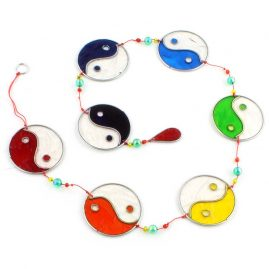 Colourful-String-of-Yin-Yang-Resin-Suncatcher