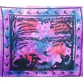 Hippy-Fairy-Faery-Throw-Purple