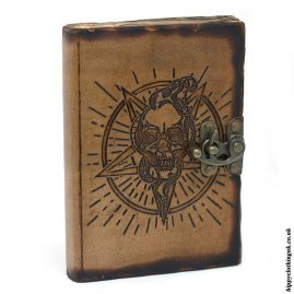 Leather-Pentagram-Skull-Notebook-