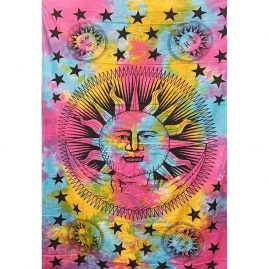 Multicoloured-Single-Tie-Dye-Sun-and-Moon-Throw