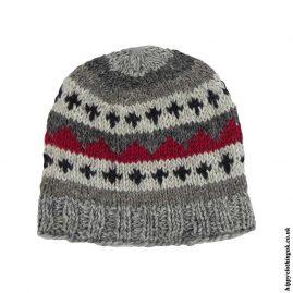 Multicoloured-Wool-Fleece-Lined-Beanie-Hat