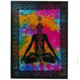 Tie-Dye-Chakra-Wall-Hanging,-Wall-Art