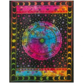 Tie-Dye-Zodiac-Wall-Hanging,-Wall-Art