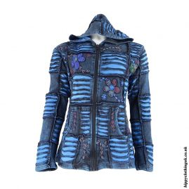 Blue-Ripped-Look-Embroidery-Jacket-