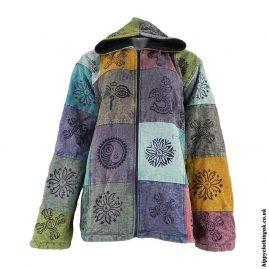 Fleece-Lined-Patchwork-Hooded-Jacket