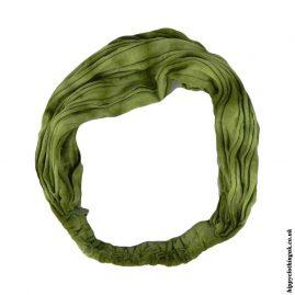 Green-Tie-Dye-Elasticated-Hippy-Hairband,-Headband