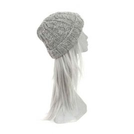Grey-Fleece-Lined-Cable-Knit-Hat