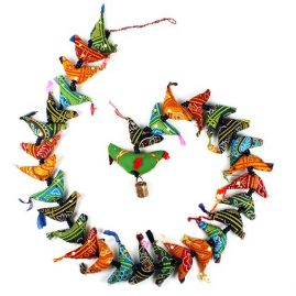 Long-String-Of-Birds-Dangley-with-Bell