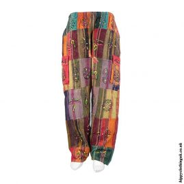 Patchwork-Hippy-Trousers-Multicoloured