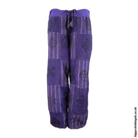 Purple-Cotton-Patchwork-Hippy-Trousers