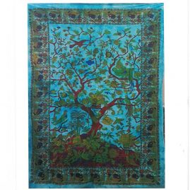 Turquoise-Tree-of-Life-Wall-Art-Wall-Hanging