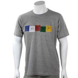Grey-Prayer-Flag-T-Shirt