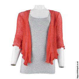 Burnt-Orange-Bali-Knit-Hippy-Shrug