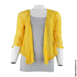 Golden-Yellow-Bali-Knit-Hippy-Shrug