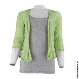 Light-Green-Bali-Knit-Hippy-Shrug