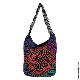 Multicoloured-Patchwork-Swirl-Shoulder-BagMulticoloured-Patchwork-Swirl-Shoulder-Bag