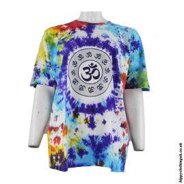 Om-Printed-Pattern-Tie-Dye-T-Shirt