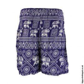 Thai-Male-Hippy-Rayon-Long-Shorts-BlueThai-Male-Hippy-Rayon-Long-Shorts-Blue