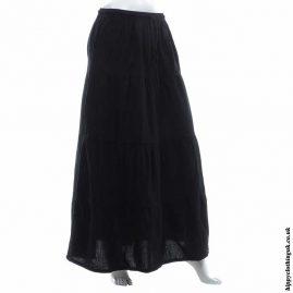 Black-Hippy-Folk-Skirt