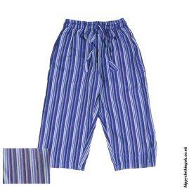 Blue-Kids-Striped-Cargo-Trousers-