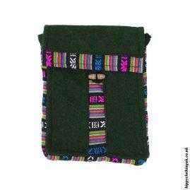 Green-Nepalese-Wool-Passport-Bag