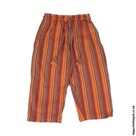 Kids-Striped-Cargo-Trousers-Orange