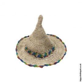 Pointy-Rainbow-Trim-Hemp-Hat