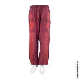 Red-Om-Harem-Trousers