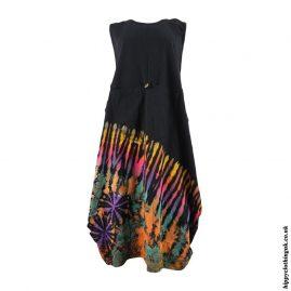Black-Tie-Dye-Balloon-Dress