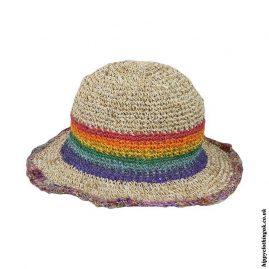 Ladies-Hemp-Floppy-Multicoloured-Hat
