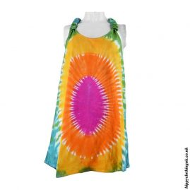 Multicoloured-Tie-Dye-Adjustable-Blouse