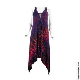 Multicoloured-Tie-Dye-Pixie-Hem-Dress