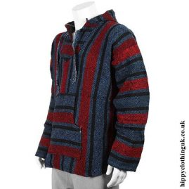 New-Red,-Black-and-Blue-Mexican-Jerga-Baja-Hooded-Hippy-Festival-Top