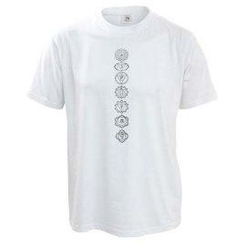 White-Chakra-Hippy-T-Shirt
