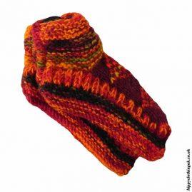 Red-Fleece-Lined-Wool-Socks