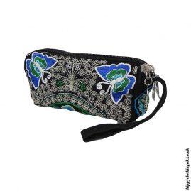 Triple-Pocket-Embroidered-Purse-blue